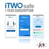 itwosafe smart distancing app