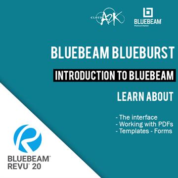 BLUEBEAM BLUEBURST - INTRODUCTION TO BLUEBEAM